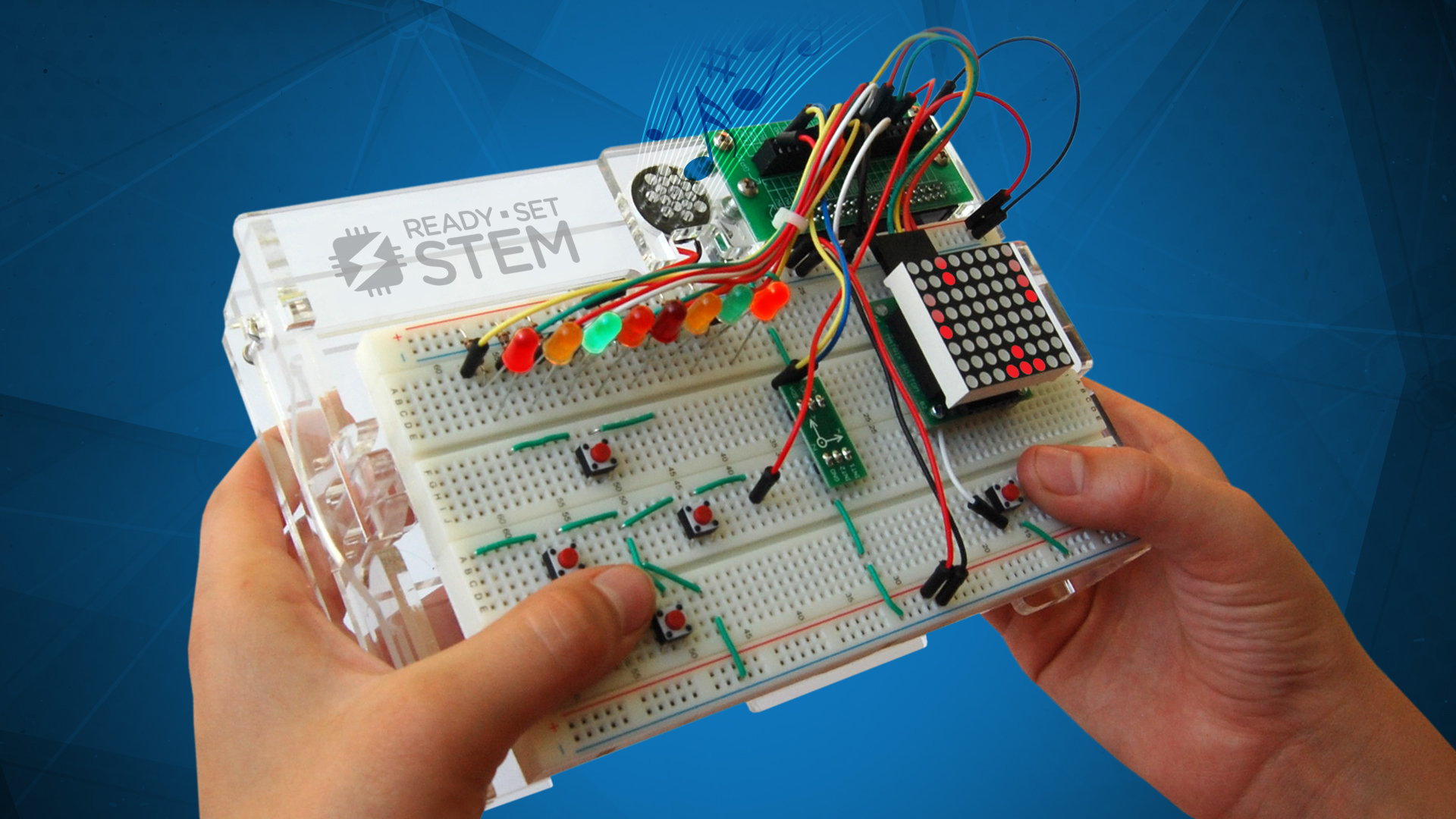 Pack Electronics Circuit Components Circuit Prototyping Breadboards